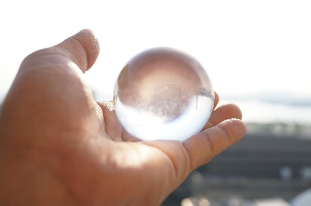 水晶玉と占い